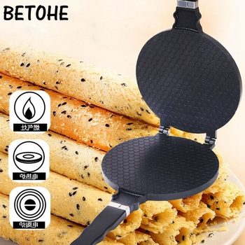 BETOHE Egg Roll Mode Non-Stick Omelet Waffles For The Baking Pan Cake Aluminium Alloy Bakeware Crispy Machine Omelet Mold