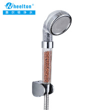 Brand New Shower Filter Household kitchen bathroom shower water purifier Anion SPA Head Shower handle Water-saving Free Shipping