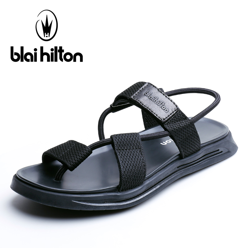 Blai Hilton 2018 New Summer Sandals new outdoor leisure beach shoes Breathable/Comfortable Hook&Loop men shoes sandals