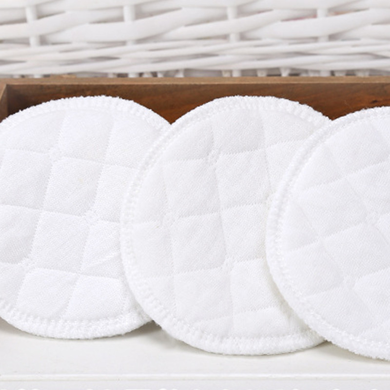 Multilayer Gauze Reusable Breast Pads Nursing Light Soft Organic Plain Washable Pad Baby Breastfeeding Accessories
