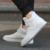 Clássico legal meninos hip hop botas além de rebites vamp moda mens dança de rua sapatas superiores altas preto branco puro cor homem tendência bota