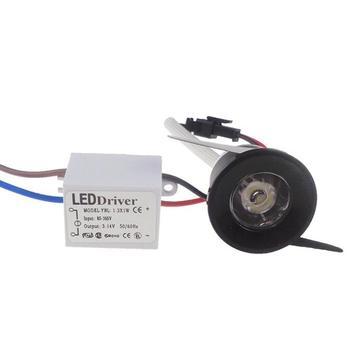 Mini led cabinet light 1W 3W mini led downlight AC85-265V Mini round led spot light white or Warm white RoHS CE