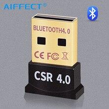 محول بلوتوث USB دونغل بلوتوث 4.0 جهاز استقبال للموسيقى ل جهاز كمبيوتر شخصي اللاسلكية Bluthooth مصغرة جهاز إرسال بلوتوث محول