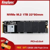 Новый KingSpec 2280 мм PCI e сигнал Gen3.0x4 NVMe M2 SSD 1 ТБ внутренний жесткий диск HD SSD M.2 1 ТБ жесткий диск для ноутбука Macbook Air 2013