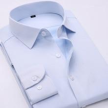 Frühling Neue herren Langarm Business Hemden Waschen Und Tragen Hemd