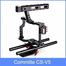 Commlite olympus pentax dslr рог кейдж род ii sony видео камеры