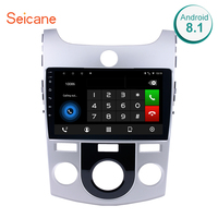 Seicane 9 Inch 2DIN GPS Navigation Android 8.1/7.1 Car Radio For 2008 2009 2010 2011 2012 KIA Forte MT Support Bluetooth DVR