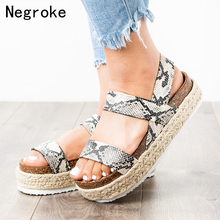 Summer Platform Sandals 2019 Fashion Women Gladiator Sandal Wedges Shoes Woman Casual Espadrilles High Heels Sandalias Mujer цены онлайн