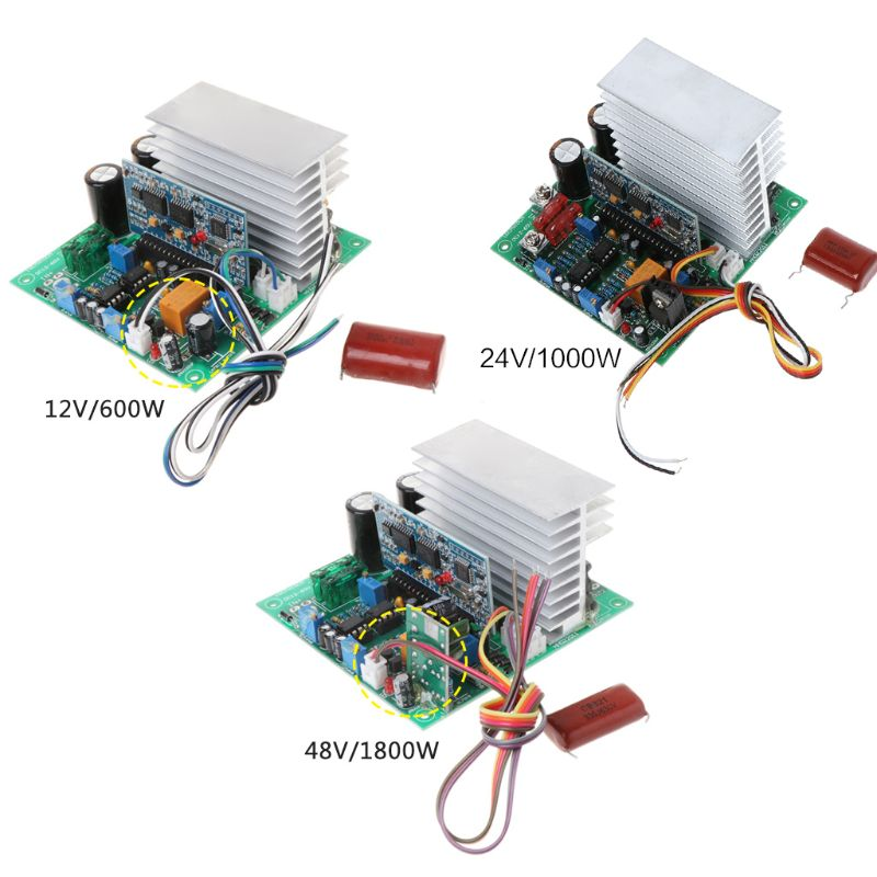 Pure Sine Wave Power Frequency Inverter Board 12/24/48V 600/1000/1800W Finished Boards For DIYPure Sine Wave Power Frequency Inverter Board 12/24/48V 600/1000/1800W Finished Boards For DIY