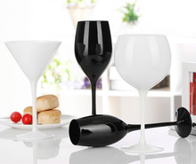 200-300ML creative black crystal red wine cup classic porcelain fashion home decoration blind