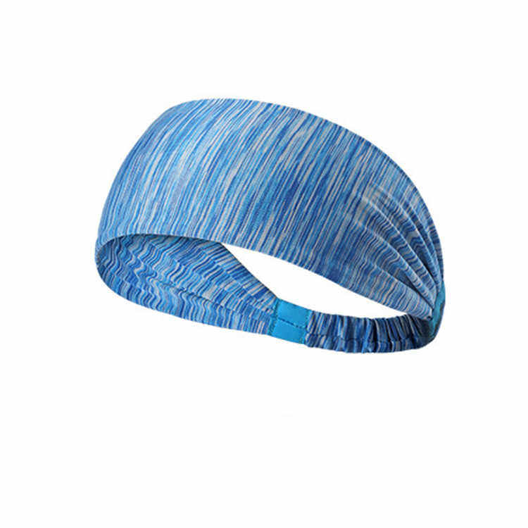 New Flax Color Fitness Sports Sweatband Overgrip Tennis Badminton Grip Sweat Band Male Women Hair Band Head Band