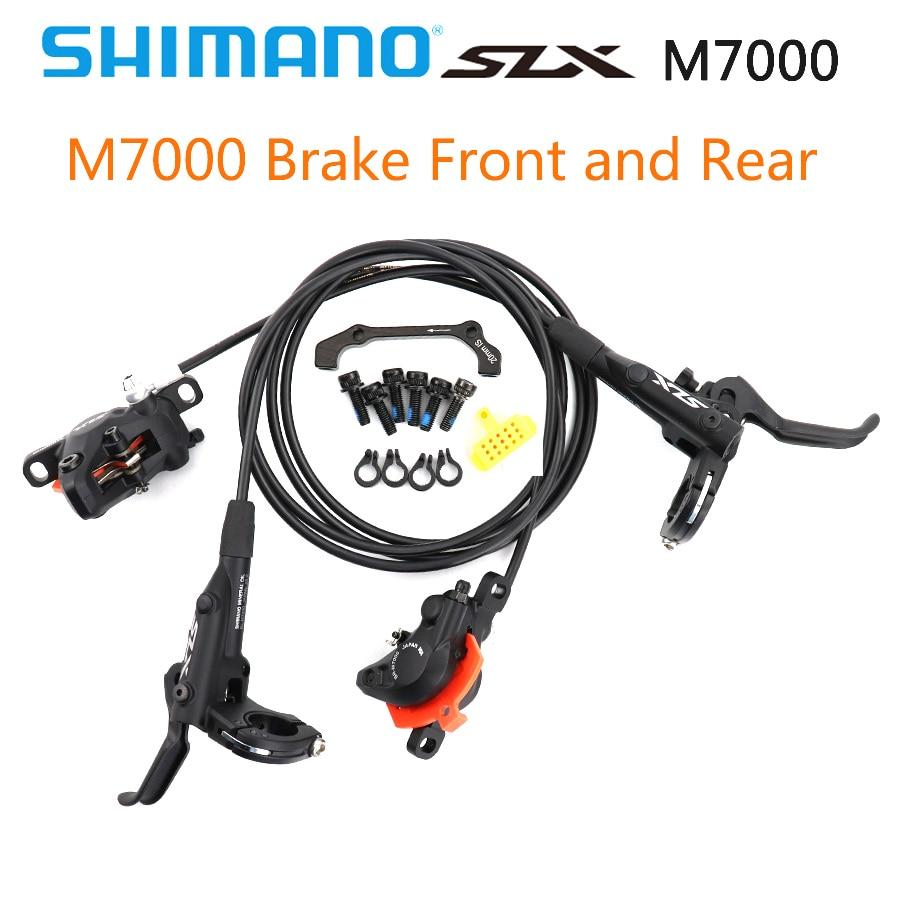 SHIMANO DEORE SLX M7000 Brake Mountain Bikes Hydraulic Disc Brake MTB BR BL M7000 850MM 1600MM