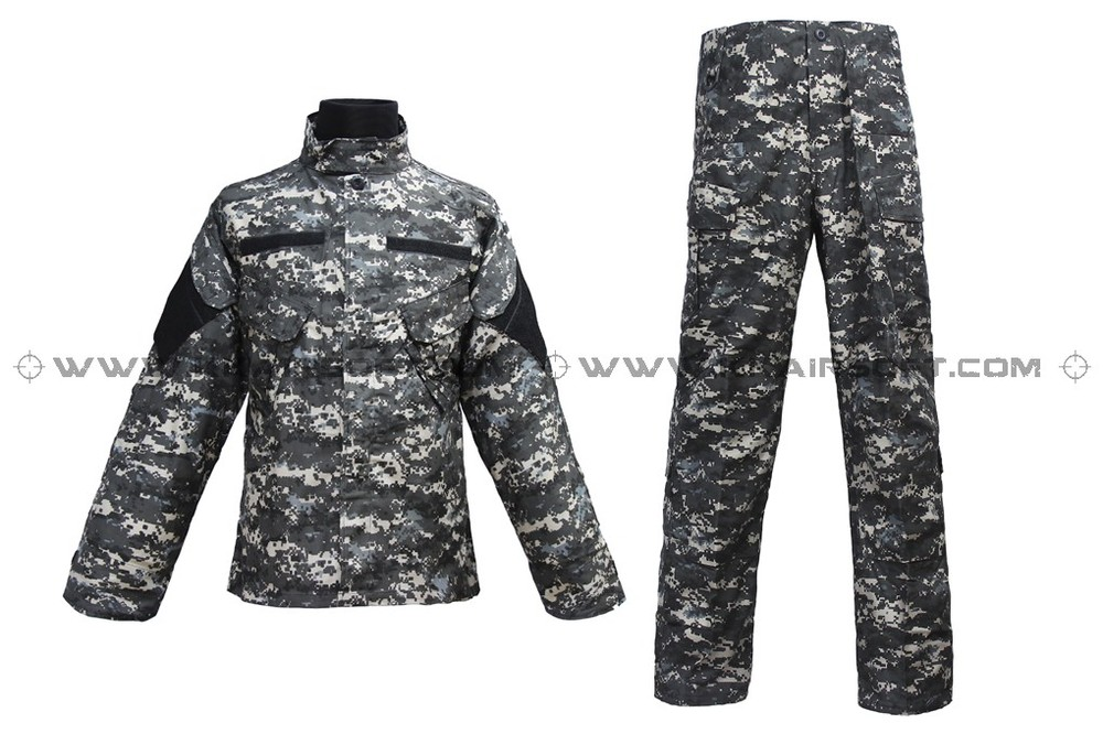 Us Army Military Uniform For Men Digital Subdued Marpat Urban BDU Velc Ro Uniform [CL-02-MU]