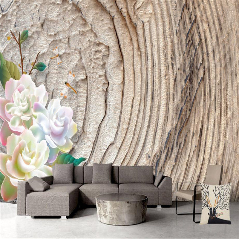 custom grey pattern wallpaper for living room decor modern 3 d flower wallpaper meeting room bedroom wood grain desktop muralls junran america style vintage nostalgic wood grain photo pictures wallpaper in special words digit wallpaper for living room