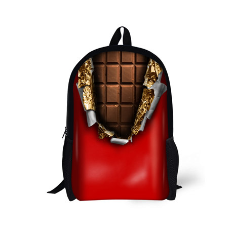 Girls Primary School Bags Kids Backpack Large Capacity Chocolate Mochilas Book Bags Shoulder School Bags for Teenage Girls Gifts