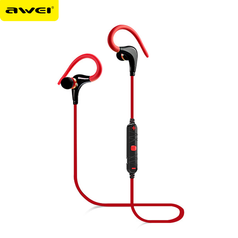 Wireless headset Awei A890BL Bluetooth Earpiece Stereo earphone earbuds Sport handsfree super Noise Canceling with Microphone bluetooth earphone earbuds wih mic handsfree car mini wireless stereo headset magnetic charger earpiece for ios android ep001