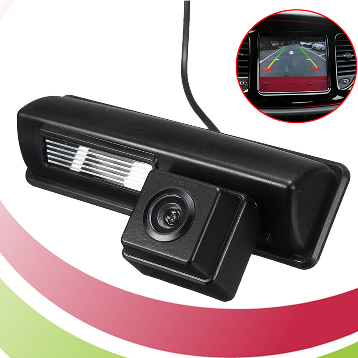 Color CCD HD Camera Fit For Toyota 2007 and 2012 Camry Car Rear View Camera Reverse