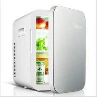 Multifunction Cool And Heat Car Mini Fridge Portable 12V 16L Auto Travel Refrigerator Quality ABS Homer