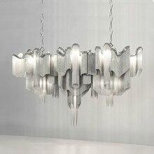 Postmodernen Italien Design Hngende Lampe Innenbeleuchtung Foyer Licht Bar Quasten Kronleuchter Fr Wohnzimmer Leuchte