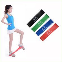 Фотография BBR02 New 4psc/lot 4 Levels Available Pull Up Assist Bands Crossfit Exercise Body Ankle Fitness Resistance Loop Band