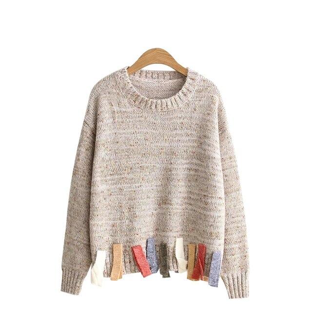 Aliexpress.com : Buy MERRY PRETTY Autumn winter Solid patchwrok ...