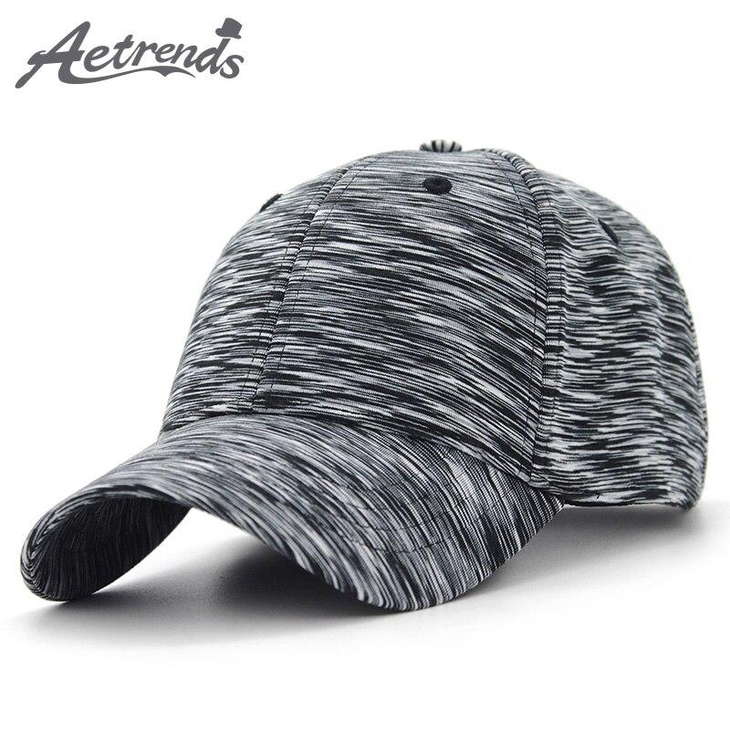 AETRENDS  2018 New Plaid Sport Baseball Cap Men Women Cotton Snapbacks  Outdoor Baseball Hats Z-6255 4e79ffa9d4c
