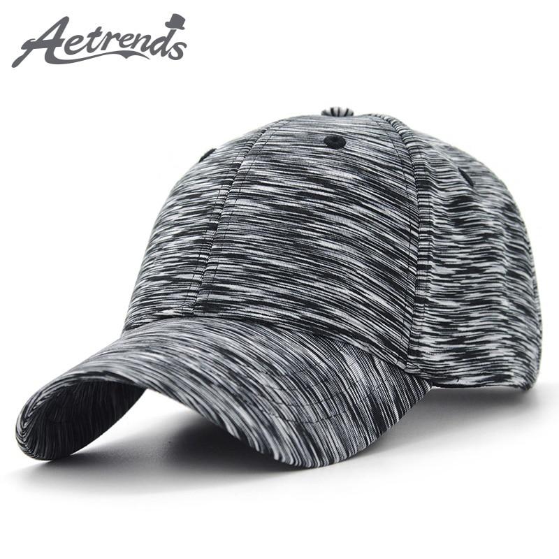 [AETRENDS] 2018 New Plaid Sport Baseball Cap