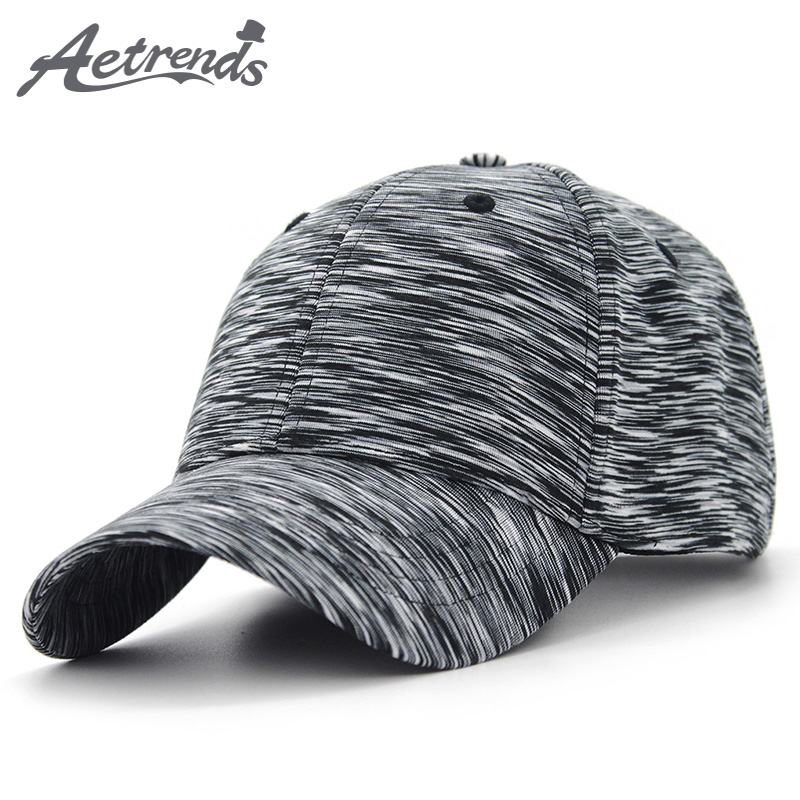 [AETRENDS] 2018 New Plaid Sport   Baseball     Cap   Men Women Cotton Snapbacks Outdoor   Baseball   Hats Z-6255