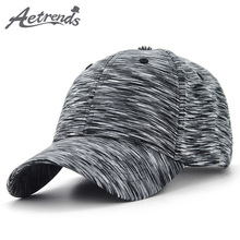 [AETRENDS] Plaid Sport Baseball Cap Men Women Cotton Snapbacks Outdoor Hats Z-6255