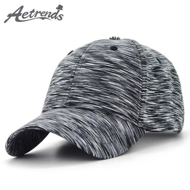 AETRENDS  2018 New Plaid Sport Baseball Cap Men Women Cotton Snapbacks Outdoor  Baseball Hats e983fc81898e
