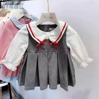 Newborn Toddler Dresses Long Sleeve Baby Girls Dress For Girl Christening Birthday Kids Casual Clothes Vestido Infantil 70 110cm