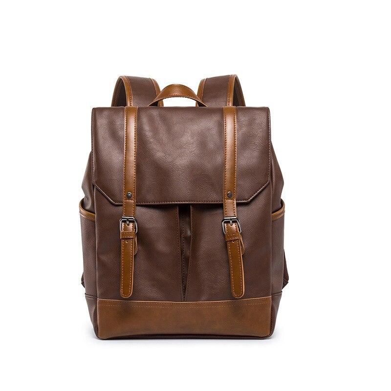 Homme affaires sac à dos ordinateur portable géométrique doux marque de luxe loisirs temps les deux épaules mâle paquet classique sacs d'école adolescent