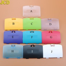 цена на JCD 1pcs Battery Cover shell case For GBC Housing Back Case For Nintend for Gameboy Color