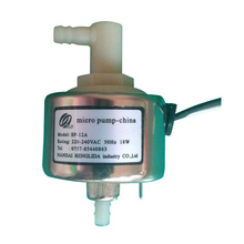 Safety and environmental protection low noise small burner miniature solenoid pump Model: SP-12A Power: 220-240VAC 50HZ 18W