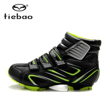 TIEBAO sapatilha ciclismo mtb Cycling Shoes For Women sneakers Men Winter Cycle Self-locking mountain bike shoes Bicycle Boot
