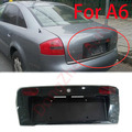2015 new car rear license frame cover accessories fit For Audi A6 C5 2000-2002 car styling parking