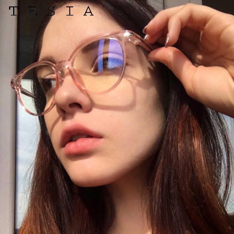Vintage redondo claro óculos feminino lente transparente óculos quadro senhoras óculos ópticos quadro masculino unissex presente 2019