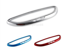 NEW!!For Porsche Cayenne Macan 2011 - 2016 Chrome ABS Inner Rearview Mirror Lid Trim High-equipped 1pcs стоимость