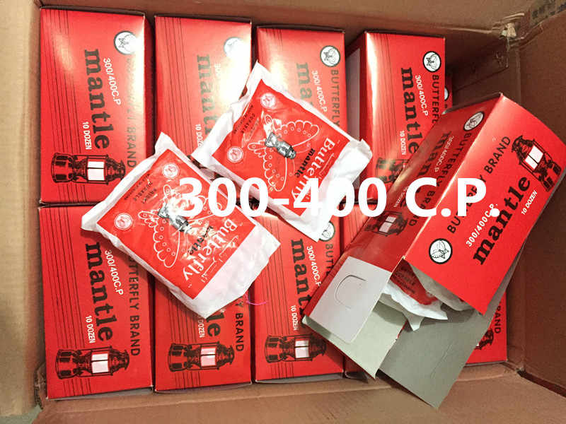 300 400 C P 36pcs Erfly Mantle High Quality Gas Lamps Outdoor