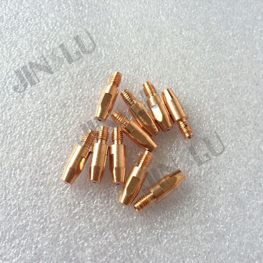 Mig contact tips m6 x 28 x 1.2mm