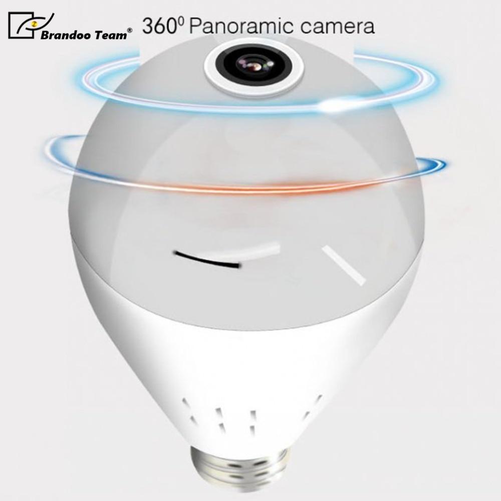 1080P 360 Degree Wireless IP Camera Panoramic Surveillance Security WIFI IP Camera