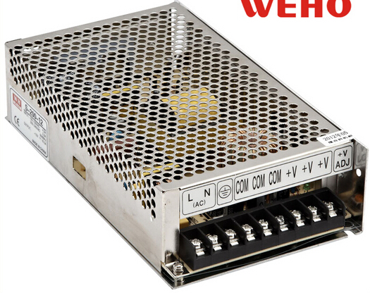 110V ac input 200W Switching Power Supply DC48V DC power supply 48V / 4A Model S-200-48 цена