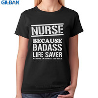 T Shirt Online Store Nurse Bad Ss Lifesaver Funny Women'S Design O-Neck Short-Sleeve T Shirts