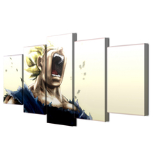 Vegeta Super Saiyan 5 Piece Canvas Wall Art