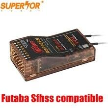 Cooltech RSF08SB Futaba S FHSS SBUS Tương Thích 8ch Thu 10J, 8J, 6K, 6J, 14sg, t16SZ 18 Tháng MZWC,18SZ, TM FH, Đồng Bằng 8 Vành Nhật Hoa R8SF