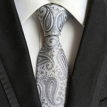 Vintage para hombre Accesorios de ropa corbata para traje de seda corbata estampada a cuadros de poliéster floral corbata de novio moda de negocios para hombres