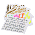 1 Sheet Nail Sticker Water Transfer Nail Art Decal Sets Gold Mix Color Designs 3D DIY Manicure Decoration Beaut 15702251570225