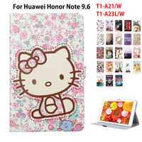 For Huawei Mediapad T1 10 Smart Case For Huawei Honor Note 9 6 T1 A21W T1