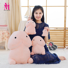 Creative Plush Penis font b Toys b font Soft Stuffed Funny Plush Simulation Penis Dolls Gift