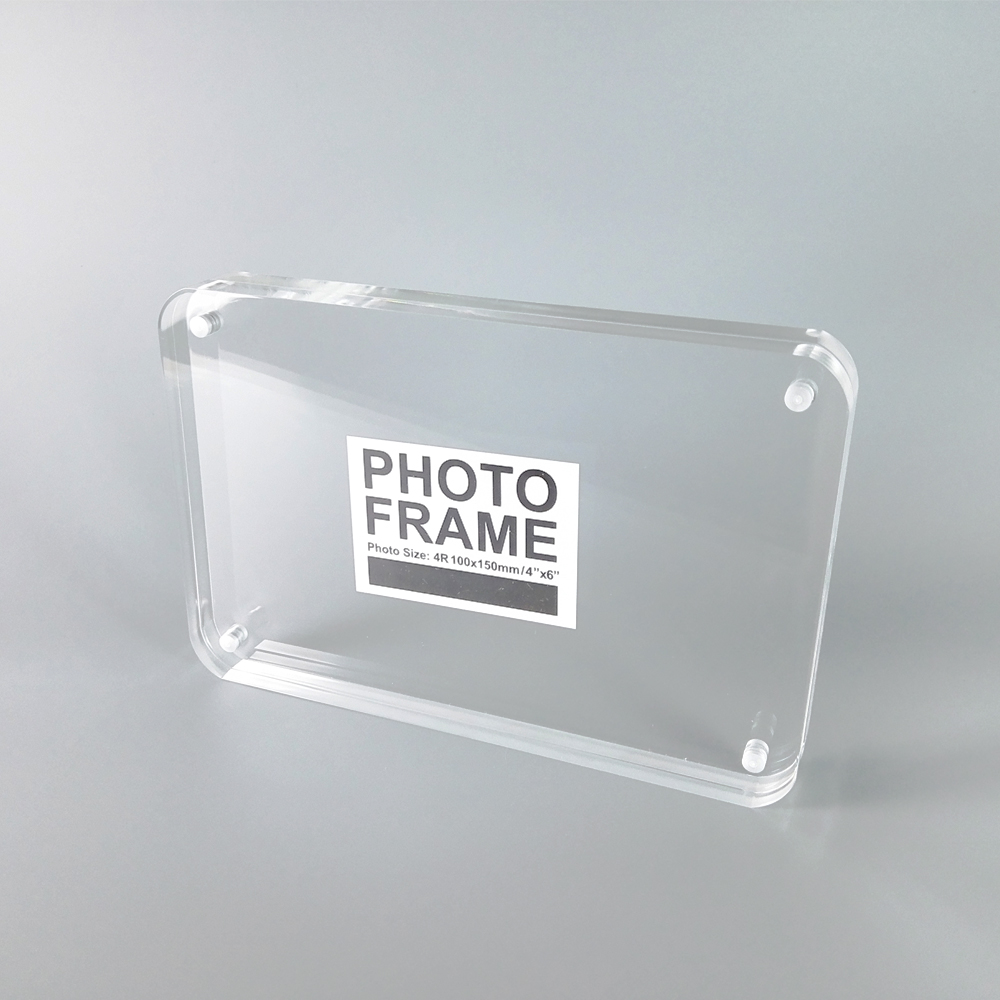 Aliexpress.com : Buy Free standing Double Sided Seethrough Acrylic ...